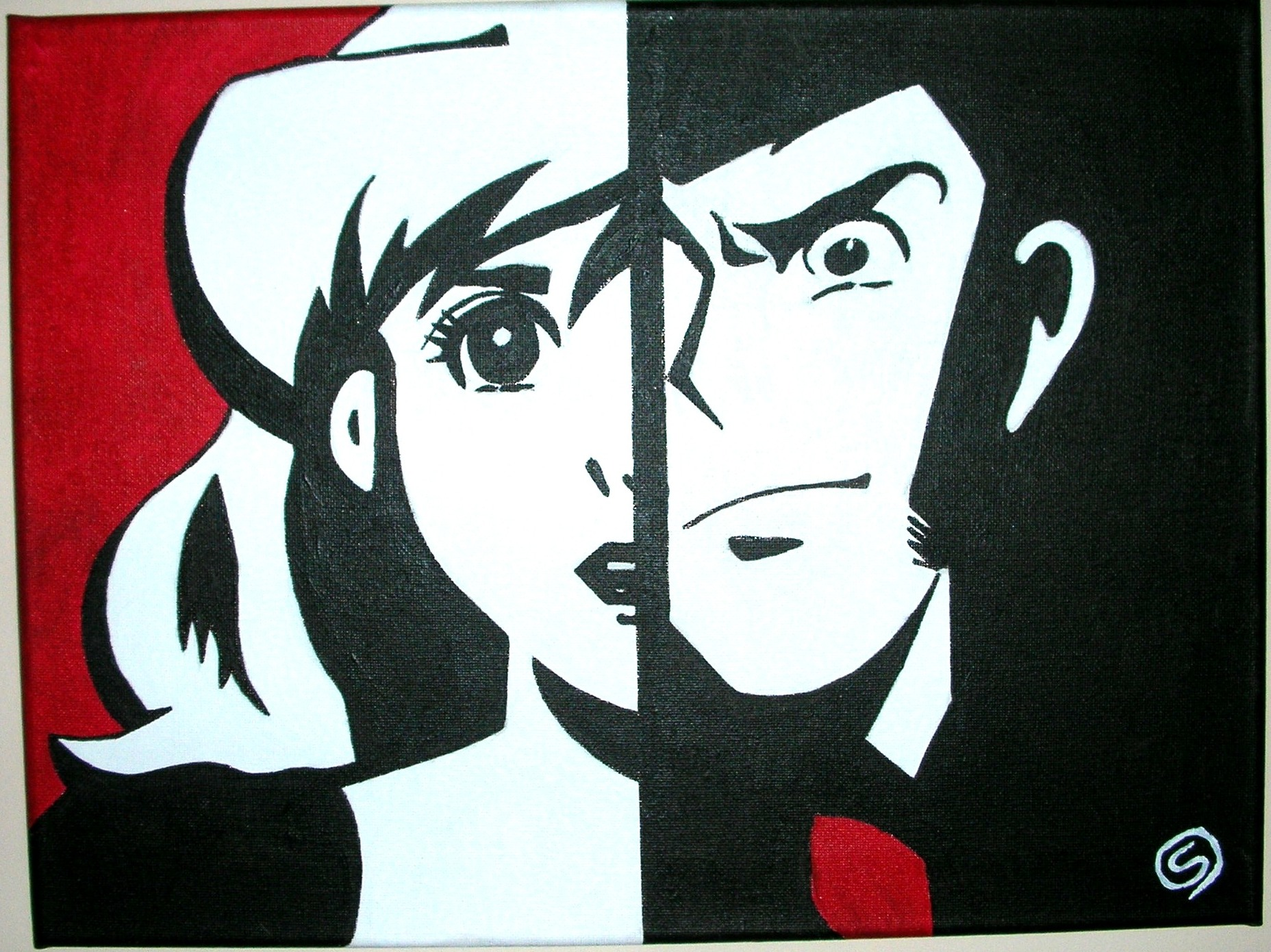 Tutorial pop art pennelli pazzi for Arredamenti lupin