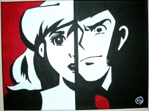 Come dipingere pop art pennelli pazzi for Lupin arredamenti